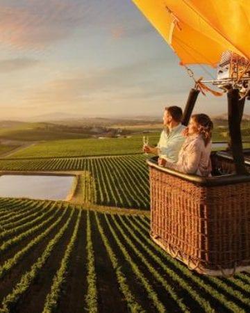 浪漫亞拉河谷熱氣球
